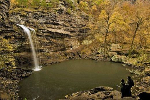 Each season brings its own distinctive beauty to Petit Jean State Park.