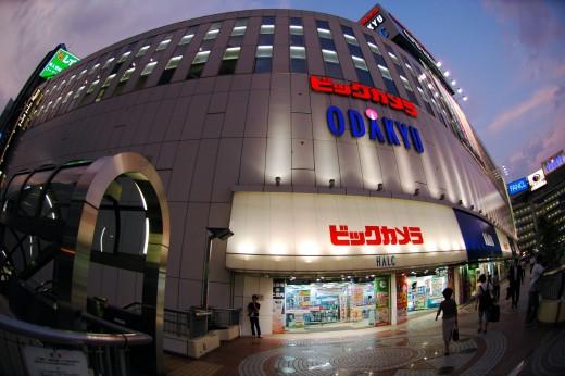 Odakyu Electronic Store Shinjuku Tokyo Japan