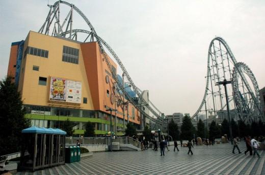 Tokyo Dome Amusement Park Tokyo Japan