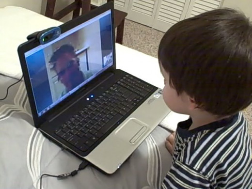 Skype parenting has become the norm for the children caught up in this unjustifiable law.