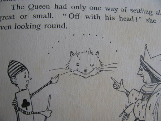 "'Off with his head!"" (Mabel Lucie Attwell)"