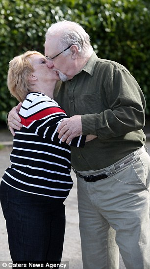 """Not an """"affectionate relationship"""": David and Maria Summers have been together for 45 years and have a grown-up son."""