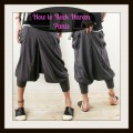 How to Rock Harem Pants at Any Age