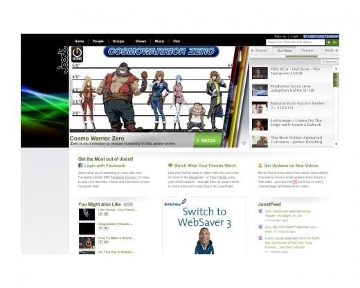 Free IPTV from joost.com