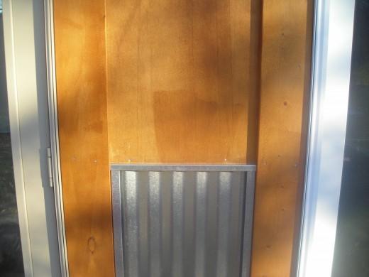galvanized metal skirtboard