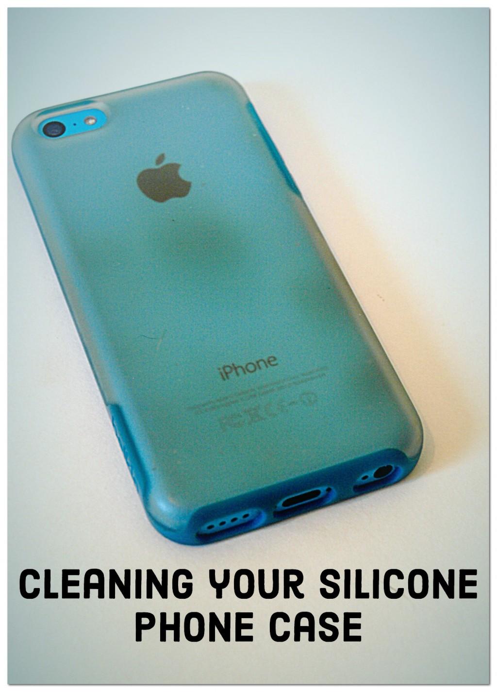 How do I clean my phone