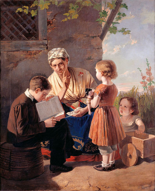 Painting by António José Patrício