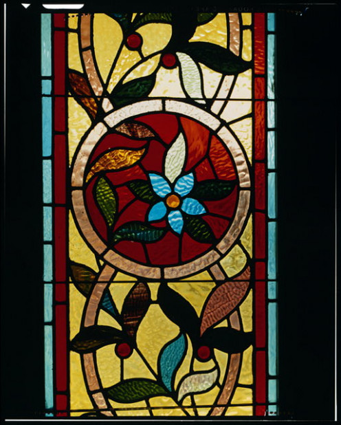 Stained Glass Window At Winchester Mystery House