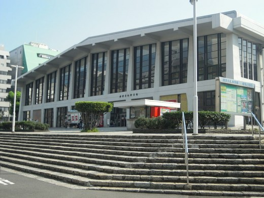 Yokohama Cultural Gymnasium, the site of the Witches of the Orient's final victory over the USSR