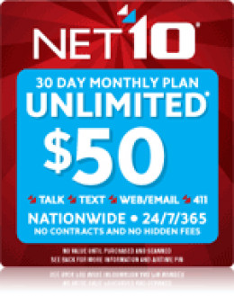 NET10 Unlimited Plans