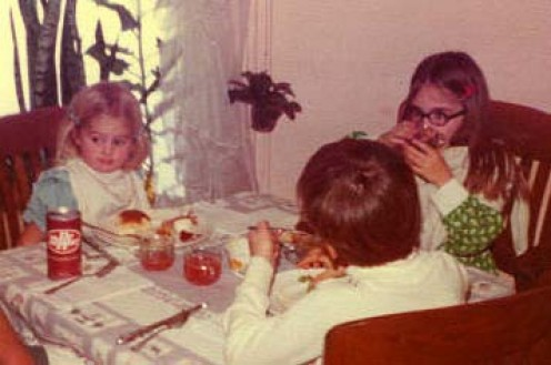 Did your family have a special table for the children at Thanksgiving?