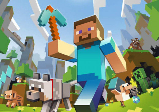 Minecraft has some of the easiest trophies on the PlayStation