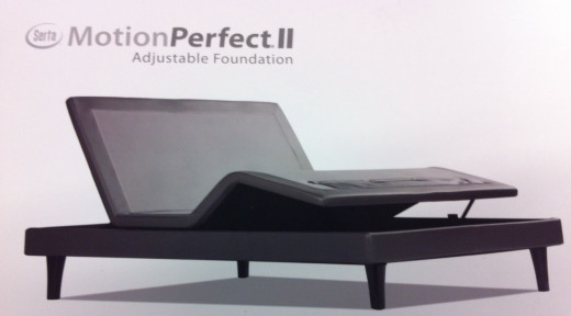 An adjustable base under the mattress will be very comfortable!
