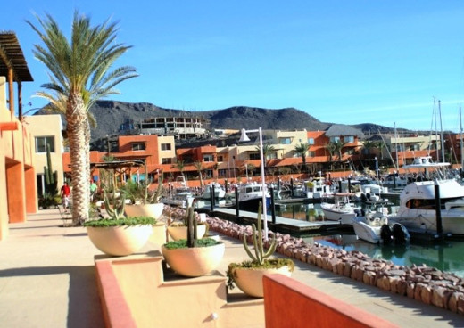 The upper harbor at Marina Costa Baja...