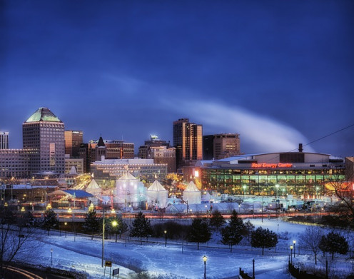 Ice Festival and Winter Carnival in St. Paul Minnesota. The events are held during the end of January and first week of February every year.