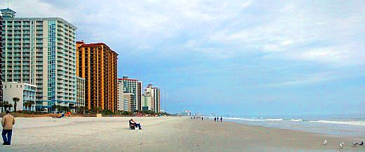 Myrtle Beach in winter is quiet but offers discounts, moderate temperatures and plenty of things to do. Crowds are sparse in the mornings and get heavier later in the day.