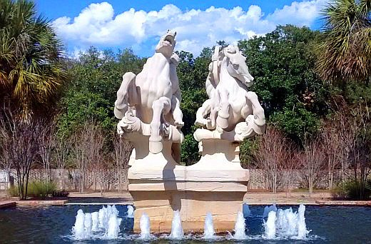 Brookgreen Gardens is one of the top public gardens in the U.S. It is especially known for its sculptures. Copyright Scott Bateman