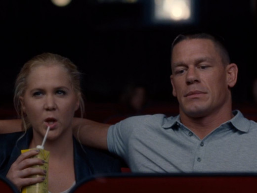 Amy Schumer and John Cena