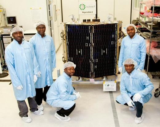 NigComSat-1, a Nigerian satellite