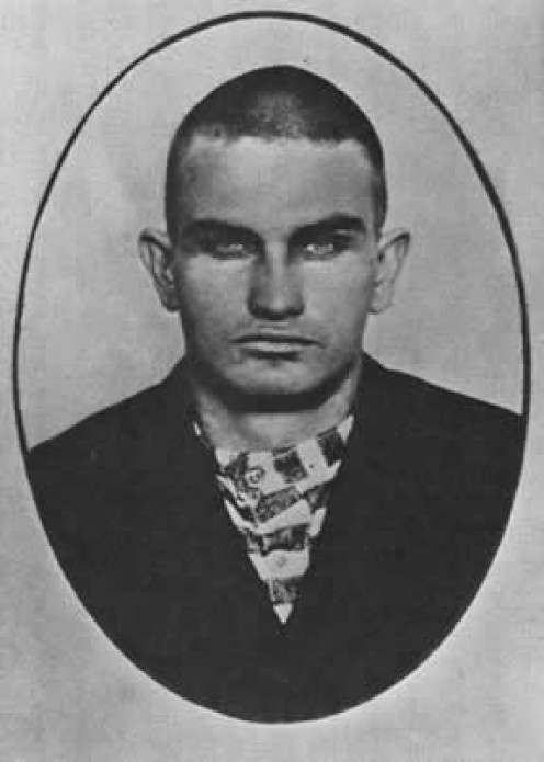 Harry Tracy, the last known man who was gunned-down by outlaws.