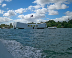 The USS Arizona Memorial Honor And Remembrance Of The Tragic Day, Dec. 7th, 1941