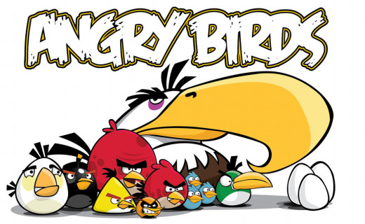 Most Overrated Games; Angry Birds