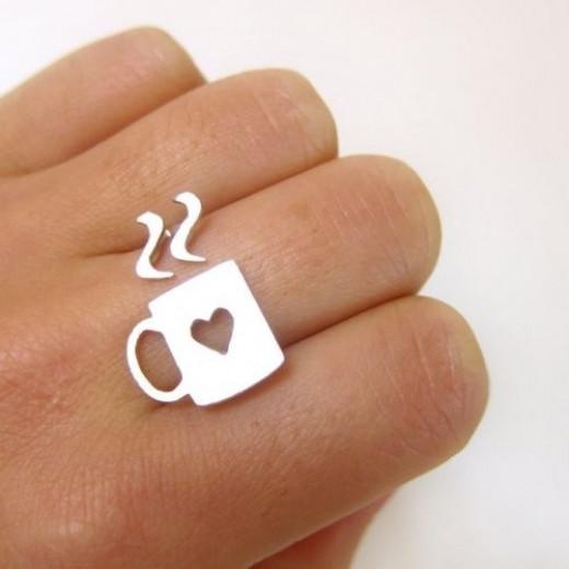 Coffee mug ring