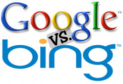 Comparing Google and Bing Rankings