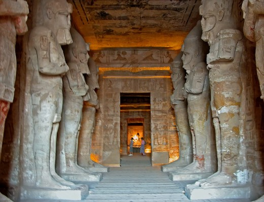 The Temple of Rameses II.