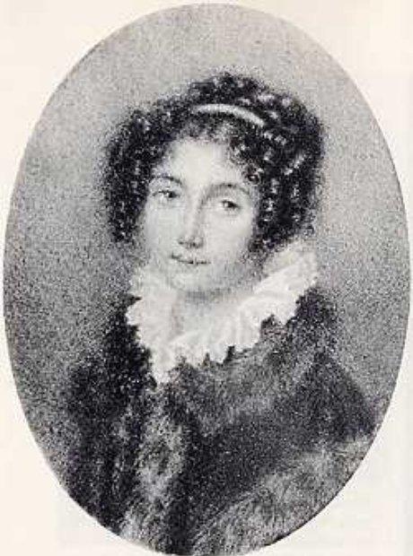Portrait of Josephine Brunsvik