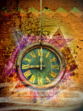 Create Old Clock Poster with Textures and Brushes in Photoshop