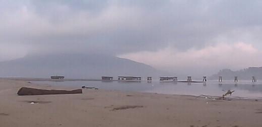 A sandy beach so perfect ...