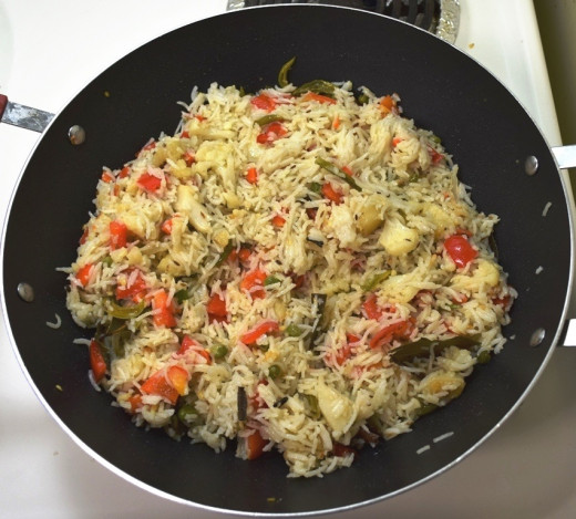 Add basmathi rice.
