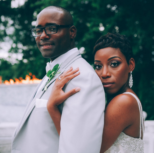 Muhammad Bey and Wanisha, became husband and wife on June 28th, 2015. Photos below are by Chelsea Olivieri.