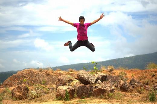 I need a big jump!