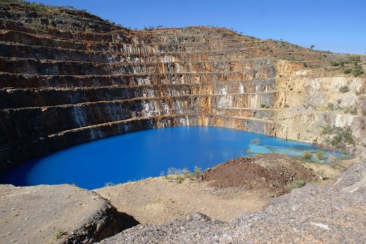 Mary Kathleen open cut Uranium mine