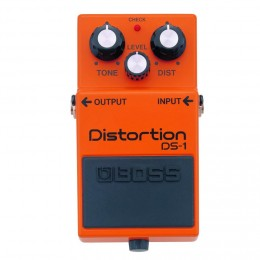The Boss DS-1 Distortion is a classic guitar effects pedal.