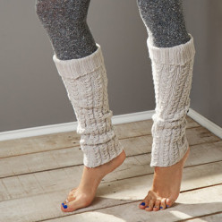 I love legwarmers in winter! What do you think of making legwarmers from discarded sweater sleeves?