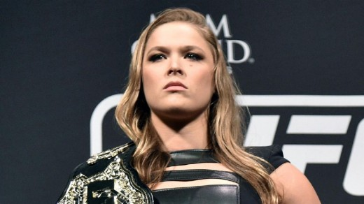 Rousey's Thousand Mile Stare