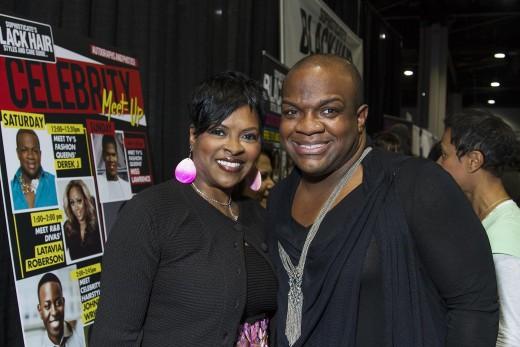 Freda interviews trendsetting celebrity hairstylist and philanthropist Derek J of the Real Atlanta Housewives.