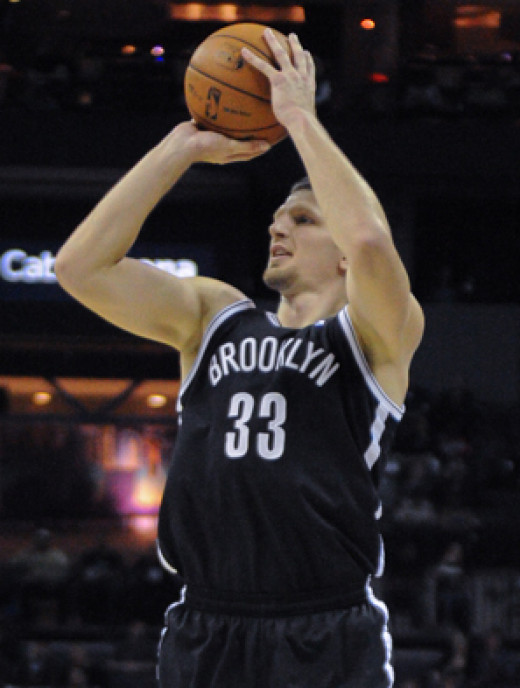 Mirza Teletovic was acquired by the Suns in the offseason.