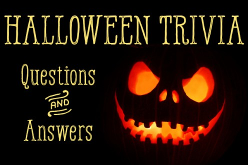 Monster image intended for halloween trivia questions and answers free printable