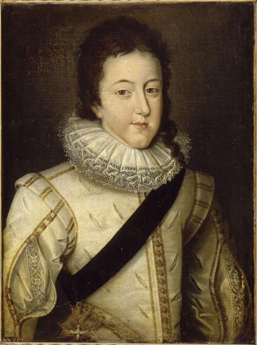 Louis XIII in 1607