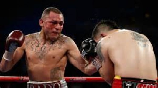 Mike Alvarado lost to Brandon Rios in their first bout but he won the rematch.