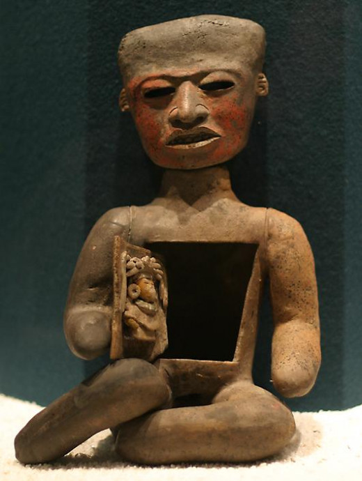 Teotihuacan Clay Figure