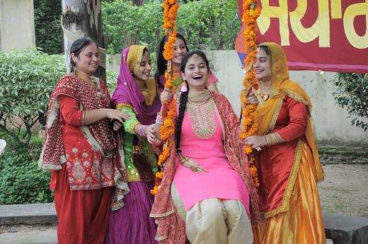 Teej Celebration in Punjab