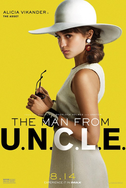 A film poster for The Man from U.N.C.L.E.