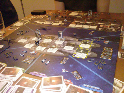 Battalestar Galactica Board Game