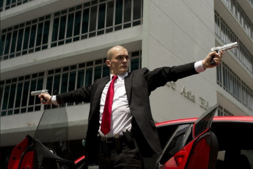 Rupert Friend in Hitman Agent 47.