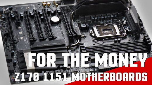 Building a Z170 Skylake or Kaby Lake based Gaming PC? Here are a few motherboards you should look at. Categories include Under $100 and $200 as well as some higher-end picks.